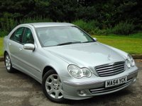USED 2004 54 MERCEDES-BENZ C CLASS 1.8 C180 KOMPRESSOR ELEGANCE SE 4d AUTO 141 BHP EXTRAS ON THIS CAR TOTAL 1500 POUNDS