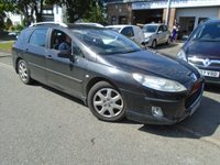 USED 2005 55 PEUGEOT 407 2.0 SW S HDI 5d 135 BHP **GREAT HISTORY INC CAMBELT**