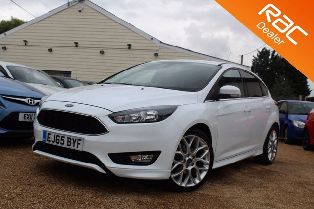View our 2015 65 FORD FOCUS 1.5 ZETEC S TDCI 5d 118 BHP