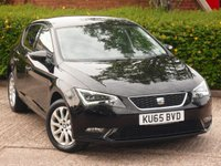 USED 2015 65 SEAT LEON 1.2 TSI SE TECHNOLOGY 5d 110 BHP NEED FINANCE ?  POOR CREDIT WE CAN HELP! JUST ASK ! CLICK THE LINK AND APPLY 24/7! SEAT WARRANTY TILL SEPTEMBER 2018