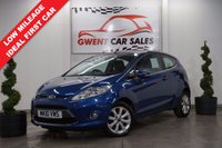 USED 2010 10 FORD FIESTA 1.2 ZETEC 3d 81 BHP *IDEAL FIRST CAR, LOW MILES, LONG MOT*
