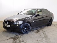USED 2006 56 BMW 3 SERIES 2.0 320I SE 4d 148 BHP LEATHER M SPORT ALLOYS PRIVACY FACELIFT MODEL. STUNNING BLACK MET WITH PART BLACK LEATHER TRIM. CRUISE CONTROL. 19 INCH UPGRADED M SPORT ALLOYS. COLOUR CODED TRIMS. PRIVACY GLASS. PARKING SENSORS. CLIMATE CONTROL. R/CD PLAYER. 6 SPEED MANUAL. MFSW. MOT 10/17. SERVICE HISTORY. AGE/MILEAGE RELATED SALE. TEL 01937 849492