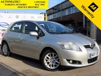 USED 2007 07 TOYOTA AURIS 1.6 TR VVT-I MM 5d AUTO 122 BHP! p/x welcome! 1 OWNER! PARKING SENSORS! EXCELLENT CONDITION! NEW MOT & PDi ! AUTOMATIC! LOW MILEAGE! 1 OWNER! SERVICE HISTORY! NEW MOT+SERVICE+PDi REPORT! EXCELLENT CONDITION! 12 MONTHS AA BREAKDOWN COVER! 3 MONTHS AA WARRANTY! FREE DELIVERY UP TO 50 MILES**!