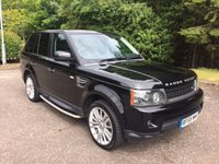 USED 2010 59 LAND ROVER RANGE ROVER SPORT 3.0 TDV6 HSE 5d AUTO 245 BHP 6 MONTHS PARTS+ LABOUR WARRANTY+AA COVER