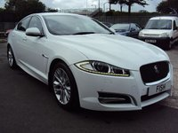USED 2013 63 JAGUAR XF 2.2 D SPORT 4d AUTO 200BHP SATNAV+MEDIA+CAMERA+BLUETOOTH+