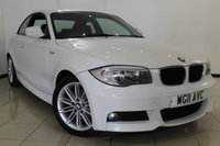 USED 2011 11 BMW 1 SERIES 2.0 120D M SPORT 2DR 175 BHP FULL SERVICE HISTORY + HALF LEATHER SEATS + AIR CONDITIONING + PARKING SENSOR + RADIO/CD + ELECTRIC WINDOWS + 17 INCH ALLOY WHEELS