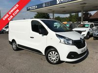 USED 2014 64 RENAULT TRAFIC 1.6 SL27 BUSINESS PLUS DCI S/R P/V 1d 115 BHP New Shape, 3 Seater, Air Conditioning, Finance Arranged, One Owner.