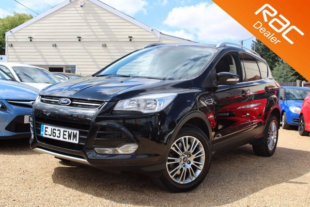 View our 2013 63 FORD KUGA 2.0 TITANIUM TDCI 2WD 5d 138 BHP