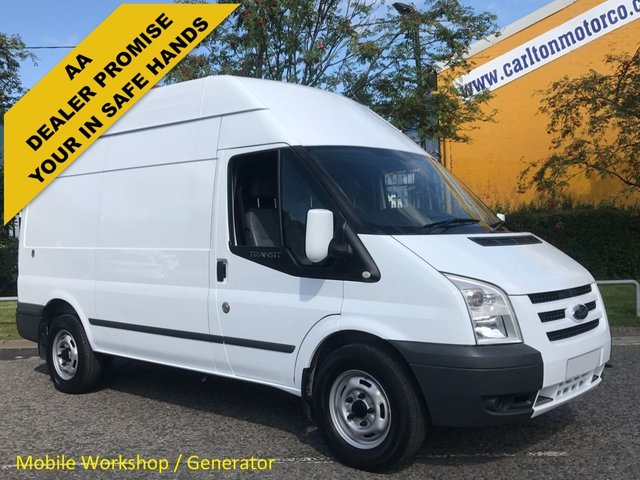 2011 11 FORD TRANSIT 100 T350 MWB Hi/R [ Mobile Workshop+ Generator ] Van Rwd XBG Free UK Delivery
