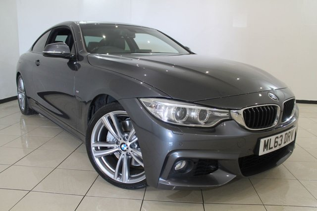 View our 2013 63 BMW 4 SERIES 3.0 435I M SPORT 2DR 302 BHP