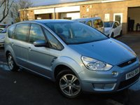 USED 2006 56 FORD S-MAX 2.0 ZETEC 145 5d 145 BHP GREAT VALUE 7 SEATER+NEW MOT