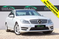 USED 2013 13 MERCEDES-BENZ C CLASS 3.0 C350 CDI BLUEEFFICIENCY AMG SPORT 4d AUTO 262 BHP **£0 DEPOSIT FINANCE AVAILABLE**SECURE WITH A £99 FULLY REFUNDABLE DEPOSIT** SATELLITE NAVIGATION, BLUETOOTH, PARKING SENSORS, HALF LEATHER UPHOLSTERY, HEATED FRONT SEATS, DUAL CLIMATE CONTROL, AIR CON, FULL MERCEDES SERVICE HISTORY + LONG MOT