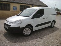 USED 2008 08 CITROEN BERLINGO 1.6 HDI 75PS 625KG X L1 5DR