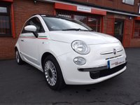 USED 2008 57 FIAT 500 1.4 LOUNGE 3d  FSH - JUST SERVICED - MOT 7/18
