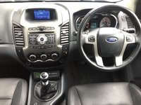 USED 2015 15 FORD RANGER 2.2 LIMITED 4X4 DCB TDCI 1d 148 BHP