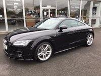 USED 2014 14 AUDI TT 1.8 TFSI S- LINE 2DR AUTO 158 BHP COUPE