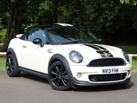USED 2013 13 MINI COUPE 1.6 COOPER S 2d AUTO 181 BHP £164 PCM With £949 Deposit