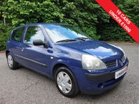 USED 2004 53 RENAULT CLIO 1.1 AUTHENTIQUE 8V 3d 58 BHP