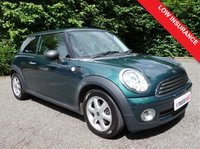 2009 MINI HATCH ONE 1.4 ONE 3d 94 BHP £3790.00