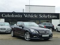 USED 2011 60 MERCEDES-BENZ E CLASS 2.1 E250 CDI BLUEEFFICIENCY SPORT 2d AUTO 204 BHP 1 FORMER KEEPER with FULL SERVICE HISTORY & 12 MONTHS MOT