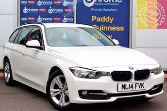 2014 BMW 3 SERIES 2.0 318D SPORT TOURING 5d 141 BHP £13443.00