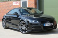 USED 2014 14 AUDI TT 2.0 TDI QUATTRO BLACK EDITION 2d 168 BHP BOSE SOUND SYSTEM, HALF LEATHER INTERIOR, FINANCE AVAILABLE