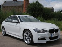 USED 2014 14 BMW 3 SERIES 2.0 318D M SPORT 4d AUTO 141 BHP ONE OWNER, FULL SERVICE HISTORY