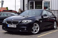 2013 BMW 5 SERIES 3.0 530D M SPORT 4d AUTO 255 BHP £21995.00