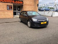 USED 2006 06 VAUXHALL ASTRA 1.6 DESIGN 16V TWINPORT 5d 100 BHP