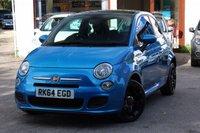 USED 2014 64 FIAT 500 1.2 S 3d 69 BHP FSH / £30 TAX / 1/2 LEATHER / BLUETOOTH & IPOD