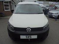USED 2012 12 VOLKSWAGEN CADDY MAXI Maxi LWB 1.6 C20 TDI 101 BHP *DIRECT FROM VW*