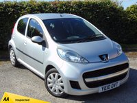 USED 2010 10 PEUGEOT 107 1.0 URBAN 5d * 128 POINT AA INSPECTED * £20.00 A YEAR ROAD TAX *