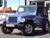 USED 1999 JEEP WRANGLER 4.0 SPORT 3d 174 BHP GREAT VALUE AND FUN 4x4