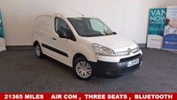 USED 2015 15 CITROEN BERLINGO 1.6HDi ENTERPRISE *Drive Away Today* 3 Seats, Air Con, Bluetooth/AUX/USB/MP3 To Reserve This Van Call 01709 866668 **Drive Away Today** Over The Phone Low Rate Finance Available, Just Call us on 01709 866668