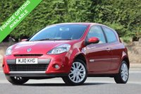 USED 2010 10 RENAULT CLIO 1.1 DYNAMIQUE TOMTOM 16V 3d 74 BHP Economical Car - Great Value!