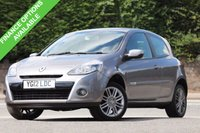 USED 2012 12 RENAULT CLIO 1.1 DYNAMIQUE TOMTOM 16V 3d 75 BHP Great Value - Economical Drive