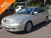 2005 TOYOTA AVENSIS 2.0 T SPIRIT VVT-I AUTOMATIC 5dr I.O.W Car £2795.00