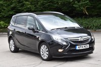 2014 VAUXHALL ZAFIRA TOURER 1.8 TECH LINE 5d 138 BHP 7 SEATER AIR CON PETROL MANUAL MPV £8990.00