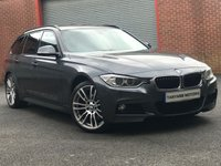USED 2013 13 BMW 3 SERIES 3.0 330D XDRIVE M SPORT TOURING 5d AUTO 255 BHP FULLY LOADED 5K OPTIONAL EXTRA