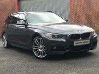 2013 BMW 3 SERIES 3.0 330D XDRIVE M SPORT TOURING 5d AUTO 255 BHP £16495.00