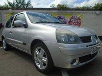 2005 RENAULT CLIO 1.1 EXTREME 4 DYNAMIQUE 16V 3d 75 BHP £1499.00