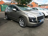 USED 2013 63 PEUGEOT 3008 1.6 E-HDI ACTIVE 5d AUTO 115 BHP WITH PARKING SENSORS!!..EXCELLENT FUEL ECONOMY!!..LOW CO2 EMISSIONS(110)..£20 ROAD TAX..FULL PEUGEOT SERVICE HISTORY..ONLY 19087 MILES FROM NEW!!..