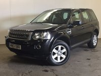USED 2013 13 LAND ROVER FREELANDER 2 2.2 TD4 GS 5d 150 BHP FACELIFT LEATHER PDC ONE OWNER FSH FACELIFT MODEL 4WD. STUNNING BLACK MET WITH FULL BLACK LEATHER TRIM. HEATED SEATS. CRUISE CONTROL. 17 INCH ALLOYS. COLOUR CODED TRIMS. PARKING SENSORS. BLUETOOTH PREP. CLIMATE CONTROL. TRIP COMPUTER. R/CD/MP3 PLAYER. 6 SPEED MANUAL. MFSW. MOT 06/18. ONE OWNER FROM NEW. FULL SERVICE HISTORY. PRISTINE CONDITION. FCA FINANCE APPROVED DEALER. TEL 01937 849492.