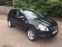 USED 2009 09 NISSAN QASHQAI+2 2.0 ACENTA PLUS 2 5d 7 SEATER 140 BHP 6 MONTHS PARTS+ LABOUR WARRANTY+AA COVER