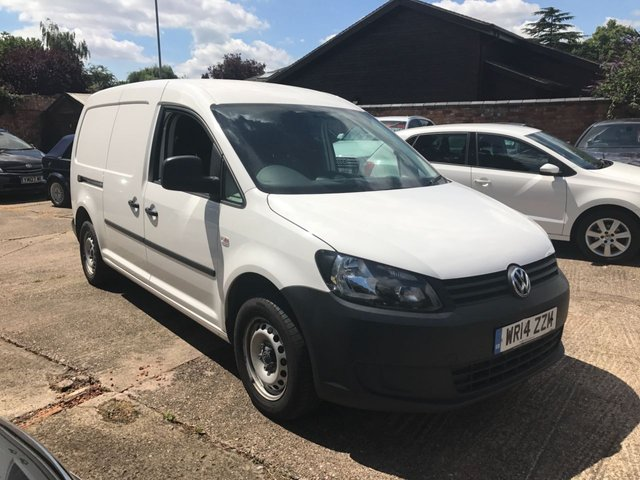 2014 14 VOLKSWAGEN CADDY MAXI 1.6 C20 TDI STARTLINE BLUEMOTION TECHNOLOGY 101 BHP
