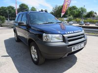 USED 2002 02 LAND ROVER FREELANDER 2.0 TD4 SERENGETI 5d 110 BHP