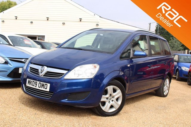 View our 2009 09 VAUXHALL ZAFIRA 1.9 EXCLUSIV CDTI 5d AUTO 120 BHP