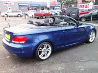 USED 2010 60 BMW 1 SERIES 3.0 125i M Sport 2dr STUNNING CABRIOLET!