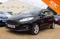 USED 2013 13 FORD FIESTA 1.0 ZETEC 3d 79 BHP BLUETOOTH, 6 MONTHS WARRANTY & MORE