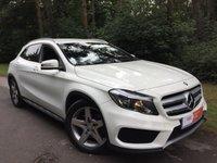 2014 MERCEDES-BENZ GLA-CLASS 2.1 GLA220 CDI 4MATIC AMG LINE 5d AUTO 168 BHP £19995.00